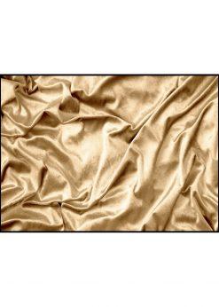 Golden Shiny Fabric