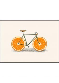 Orange Wheels by Florent Bodart