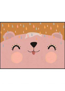 Happy Bear Rosy by treechild