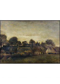 Farming Village at Twilight