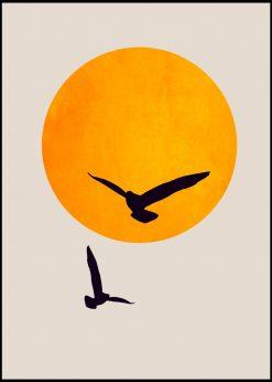 Birds In The Sky by Kubistika