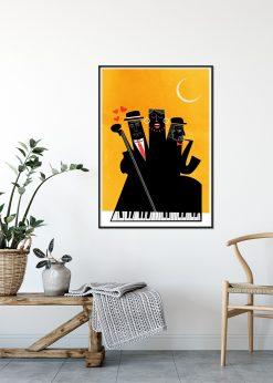 Casablanca Jazz Yellow by Kubistika
