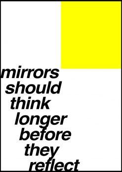 Mirrors Should Think Longer by Kubistika