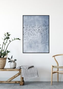 Moving On Blue by Kubistika