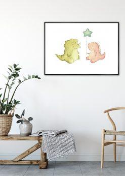 Dinosaur Buddies by Mike Koubou