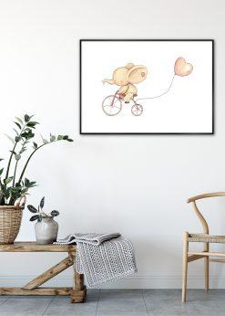 Cycling Elephant by Mike Koubou