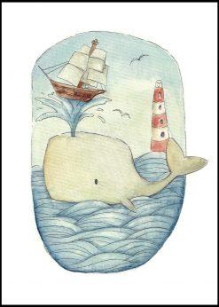 Whale by Mike Koubou