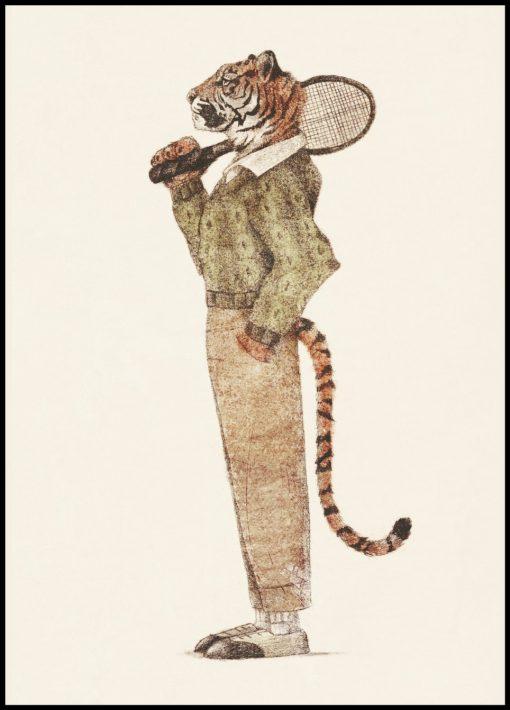Tiger by Mike Koubou
