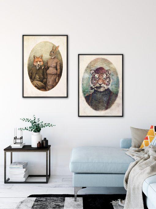 Fisherman Tiger by Mike Koubou