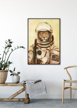 The Tiger Astronaut by Mike Koubou