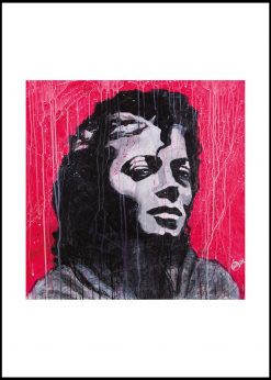 Michael Jackson Red Vibes by Didier Chastan