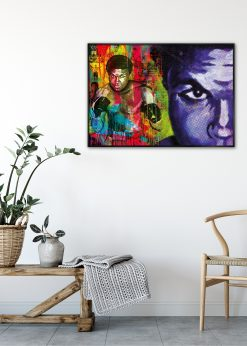 Muhammad Ali Dot by Didier Chastan