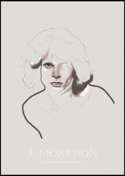 Jim Morrison by Gabriella Roberg