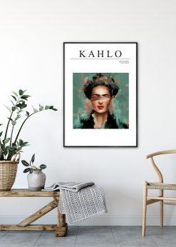 Frida Kahlo Green by Gabriella Roberg
