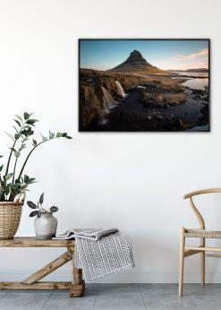 Waterfalls at Kirkjufell, Iceland by Wiberg