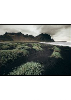 Stokksnes Beach on Iceland nr. 1 by Wiberg