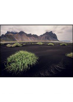 Stokksnes Beach on Iceland nr. 2 by Wiberg