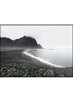 Stokksnes Beach on Iceland nr. 3 by Wiberg